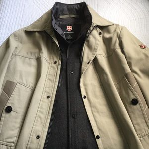 🆕Victorinox Utility Swiss Army Jacket Wool Liner